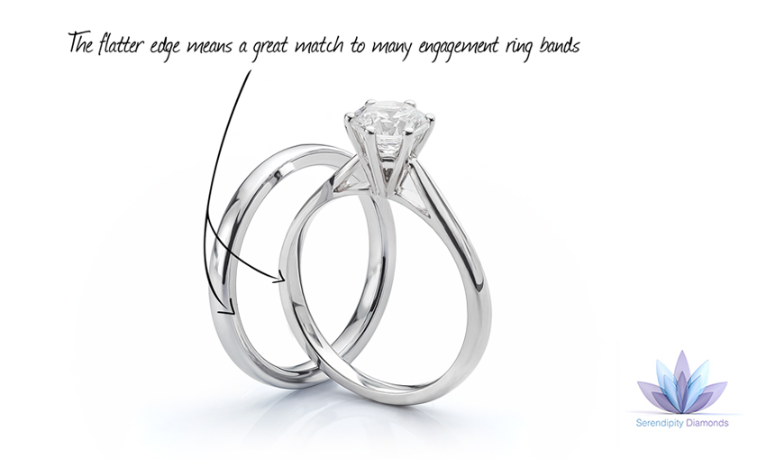 cut match meaningful matching band for a aperfectmatch right bands wedding blog index diamond symbolic engagement princess your emerald classic perfect find the