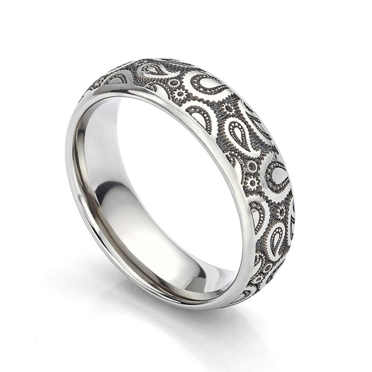 Paisley Wedding Ring