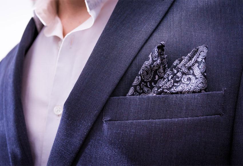 Paisley Pattern on Handkerchief