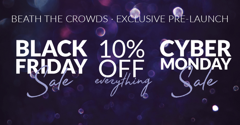 Black Friday Cyber Monday Jewellery Offers