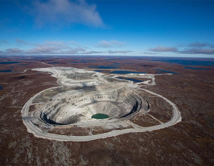 CanadaMark Diamond Mine - Diavik in Canada's Northwest Territories