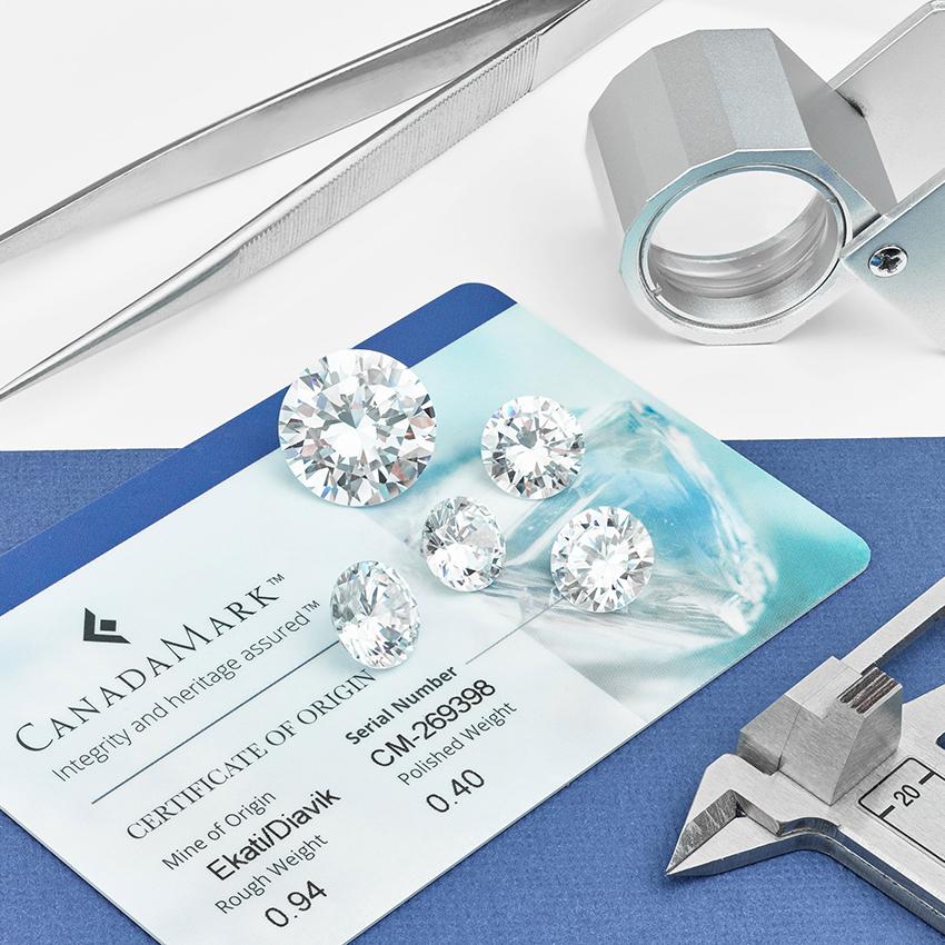 Canadamark Diamonds Gallery