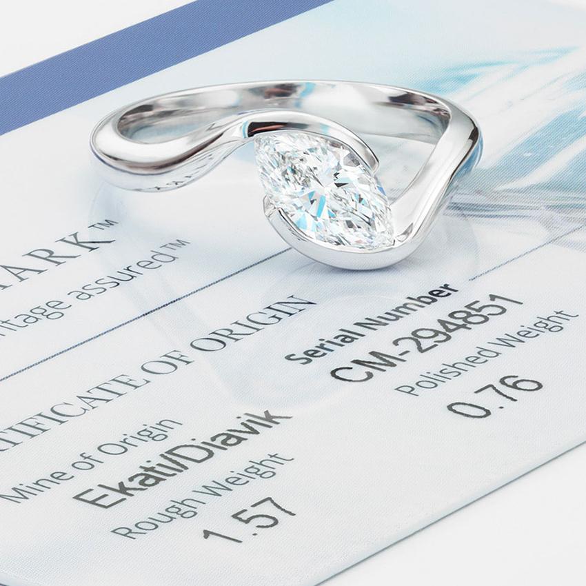 CanadaMark Ursa Ring on Card