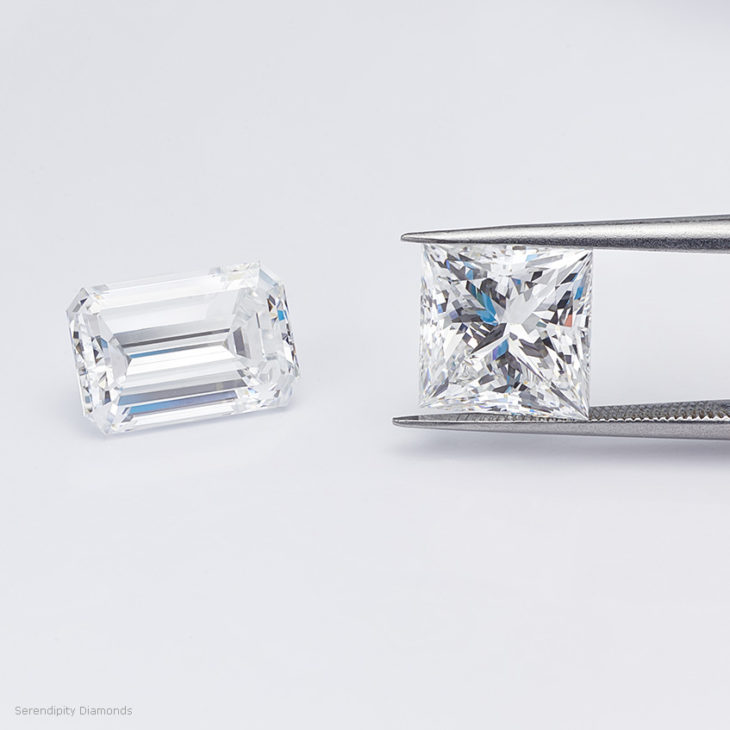 Eye-clean diamond examples