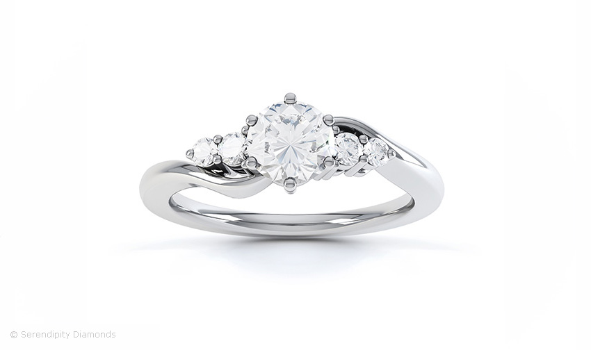 setmain rd in trellis engagement five posen ca tw diamond truly build your rings zac platinum ring stone own ct