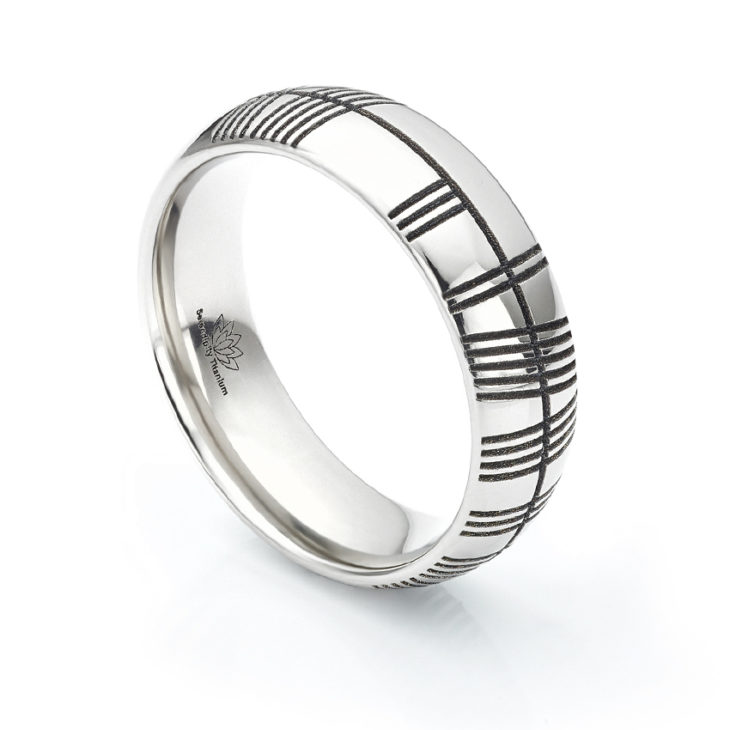 ogham personalized zirconium black customized page rings ring wedding geti