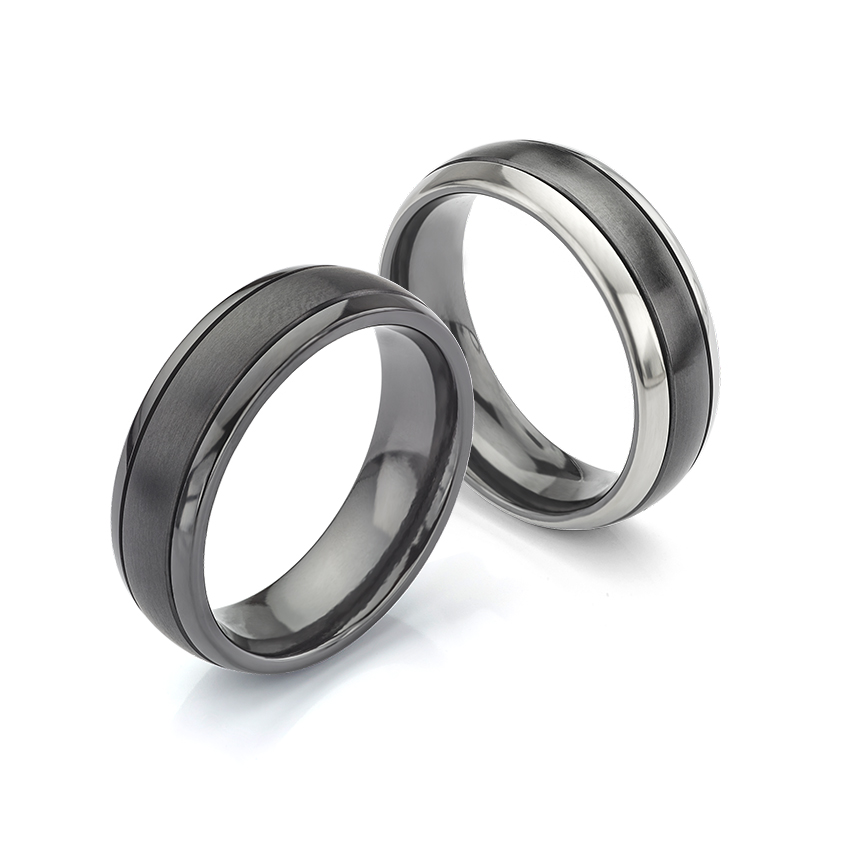 Black Wedding Rings For Men The Rise Of The Black Wedding Band