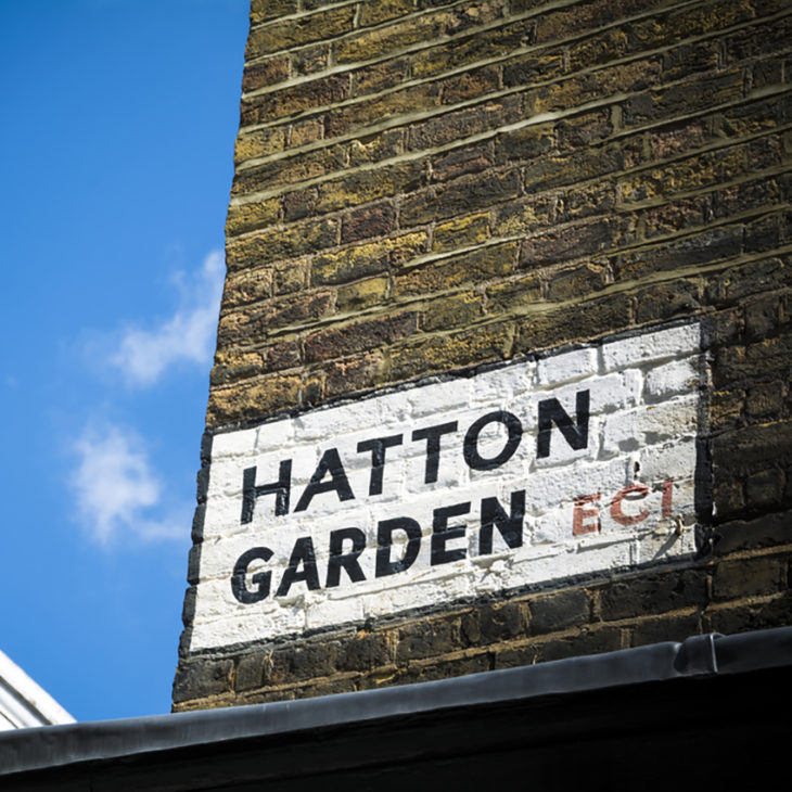 Where to buy an engagement ring - Hatton garden is just one popular jewellery district