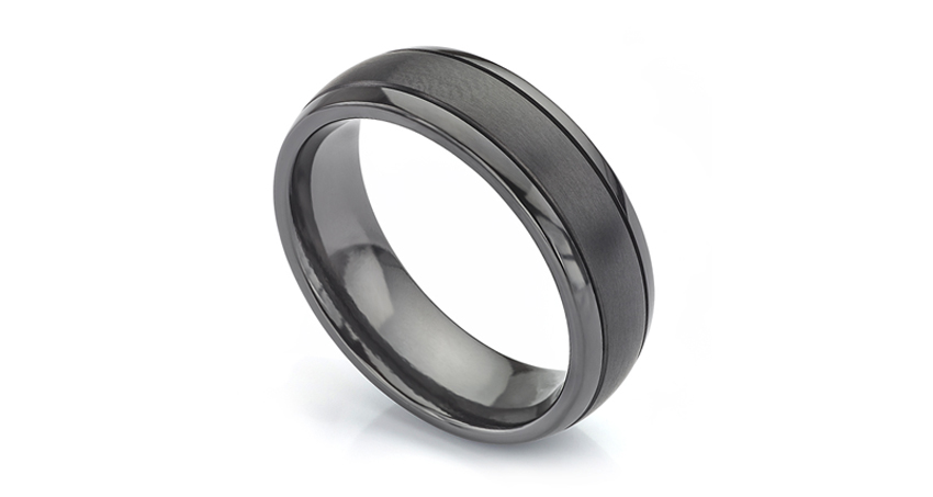 Jackdaw Black Ring