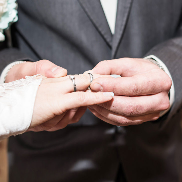 Should A Wedding Ring And Engagement Ring Be Same Finger Size