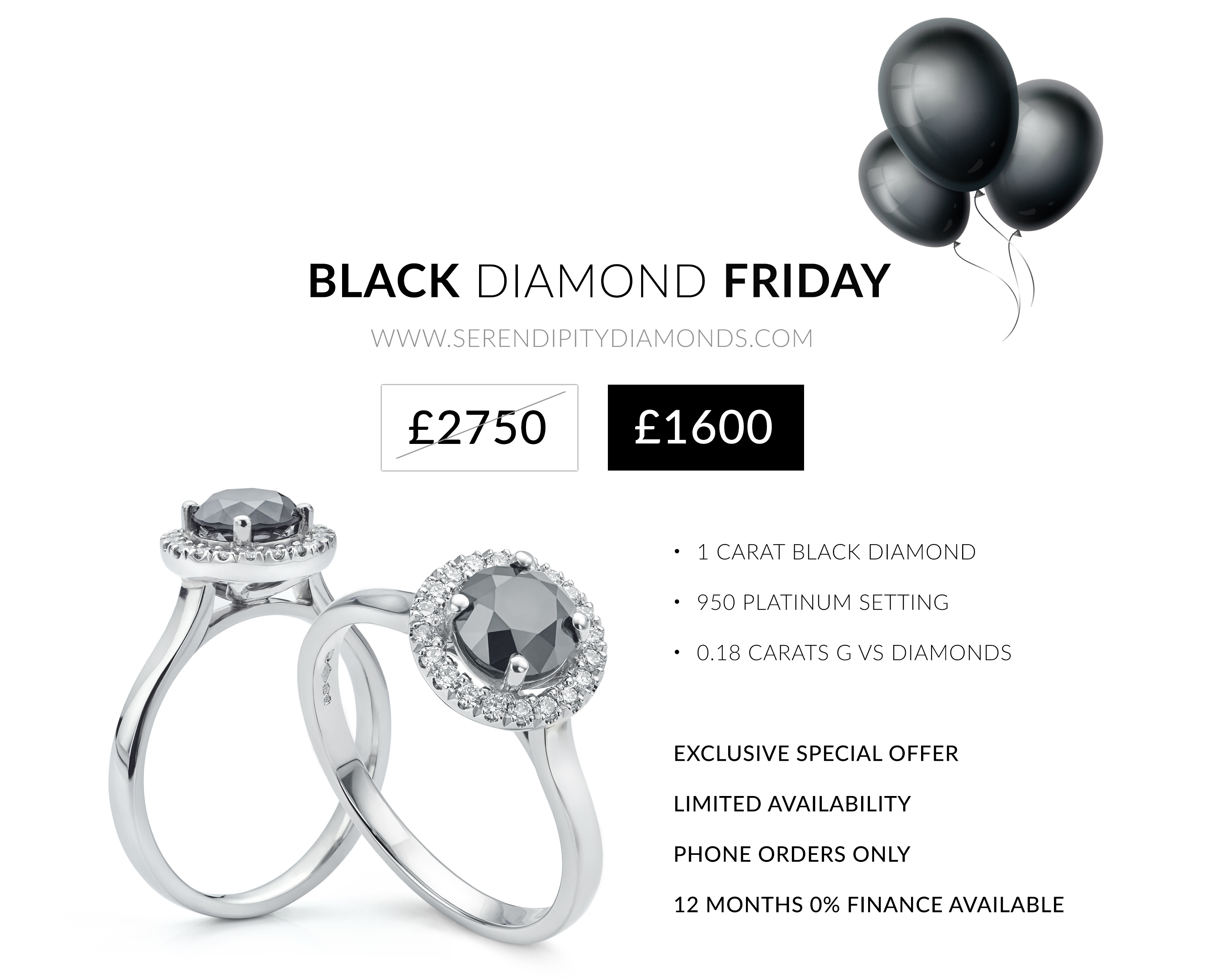 Black Friday 2019 Exclusive Jewellery Offer