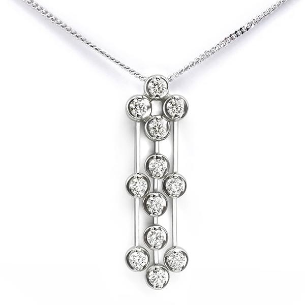 Art Deco Diamond Drop Pendant