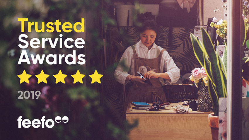 As one of the best online diamond stores and jewellery showrooms, we won the trusted service award via Feefo this year