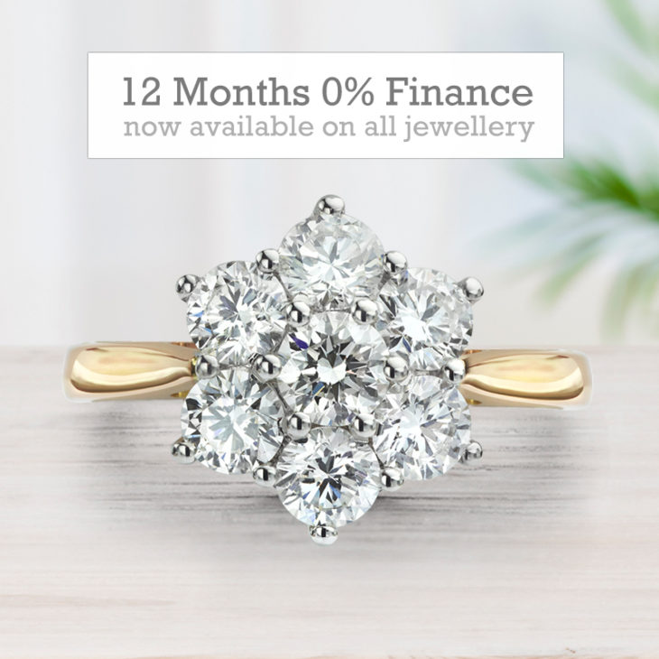 12 months jewellery finance with 0% APR at Serendipity Diamonds