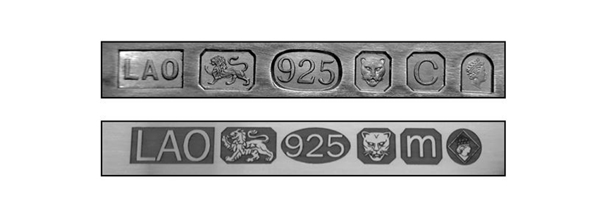 925 Gold stamp or 925 Silver stamp?