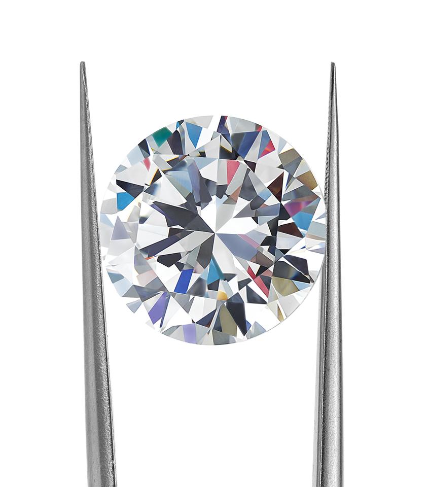 Diamond sparkle and diamond fire