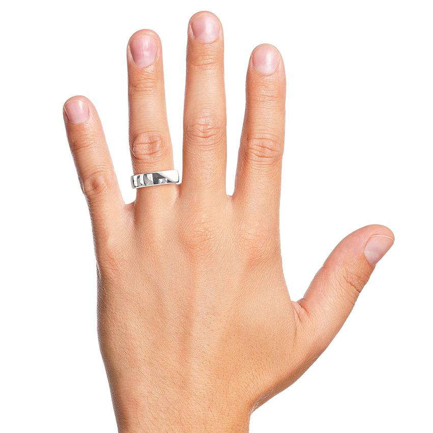 Platinum 5mm wedding ring