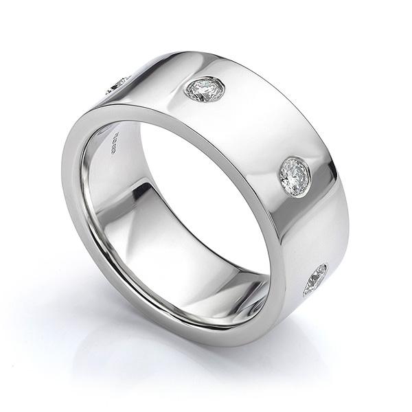10mm mens engagement rings