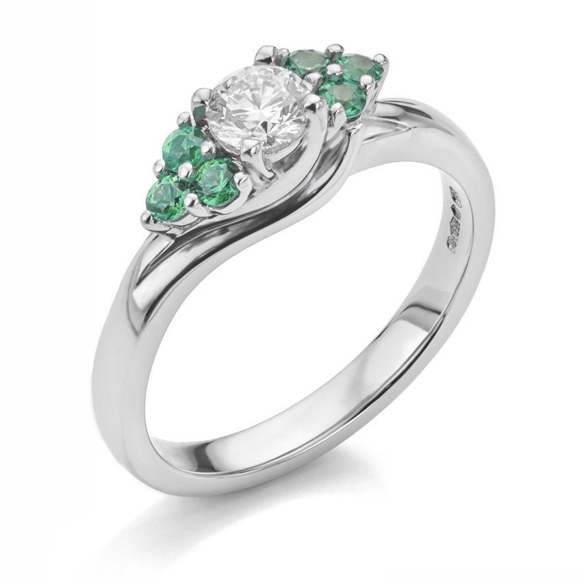 Example of bespoke engagement ring