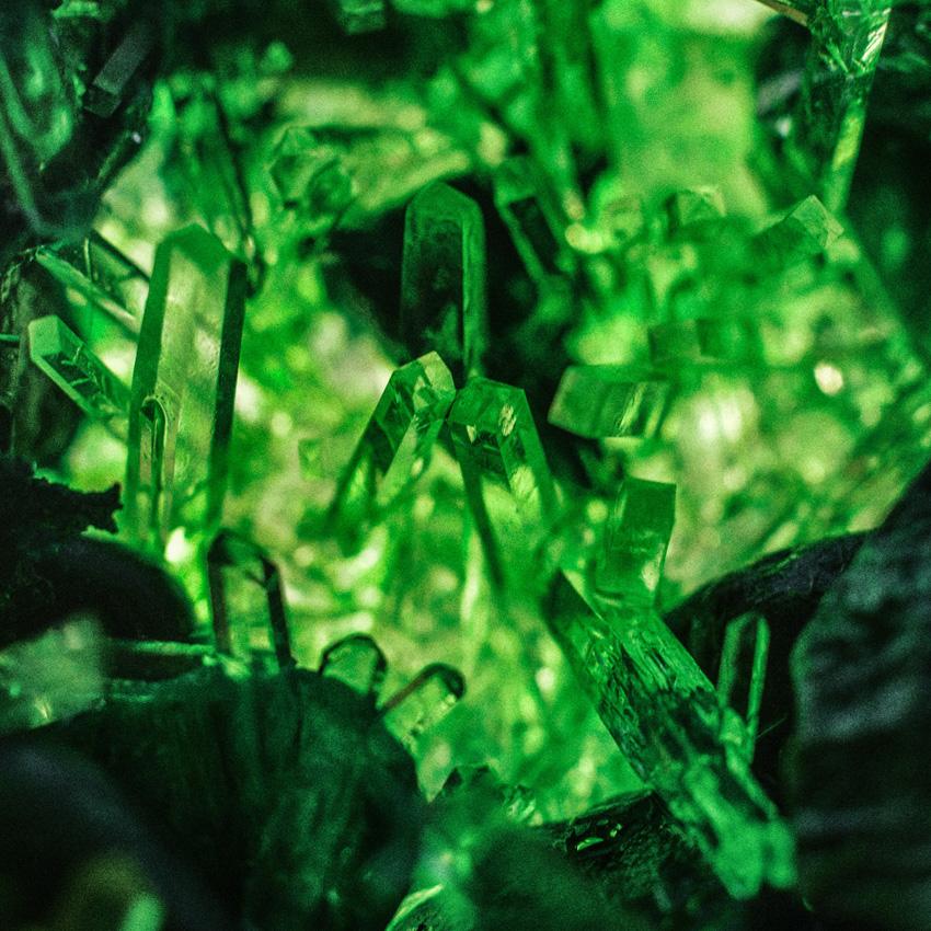 Emerald crystals