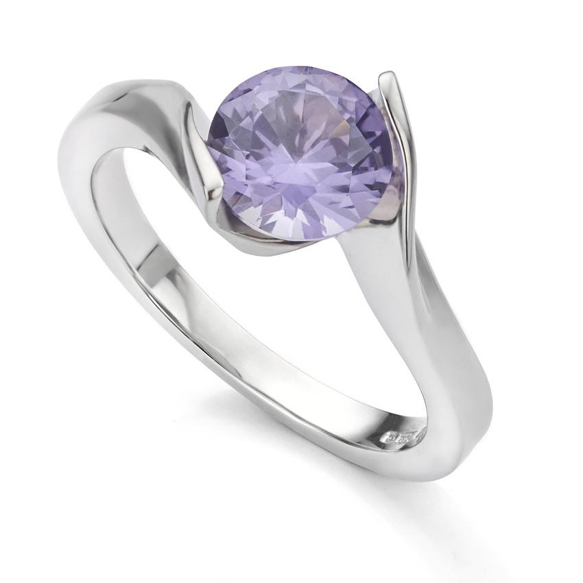 Bespoke alexandrite ring