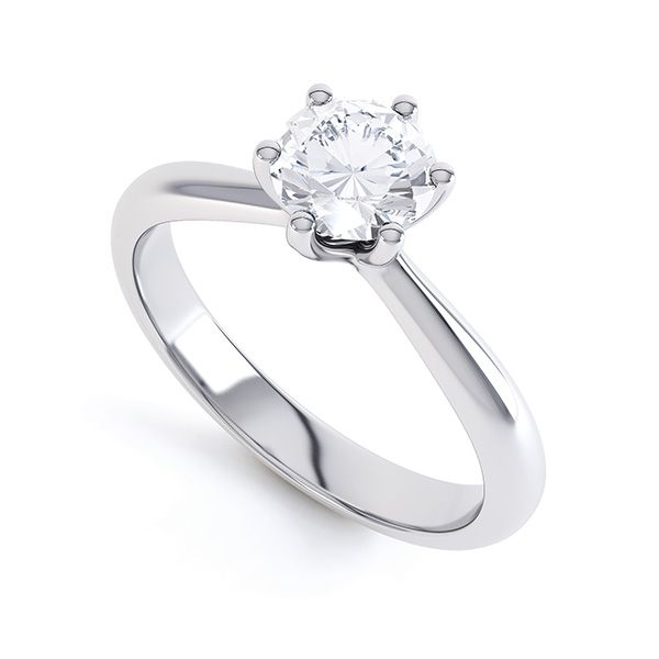 Destiny Tiffany Style Solitaire Engagement Ring Main Image