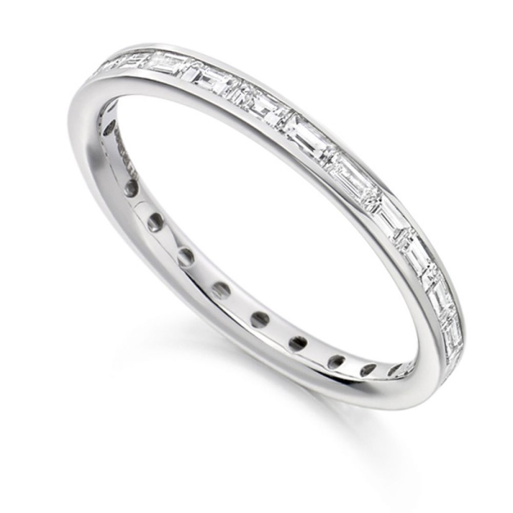 0.75cts Baguette Diamond Full Eternity Ring