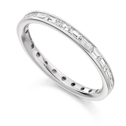 Channel Set Eternity Rings