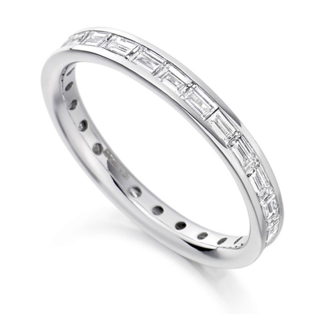 1.25cts Baguette Diamond Full Eternity Ring