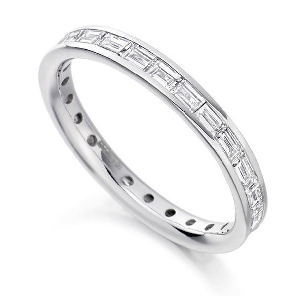1.25cts Baguette Diamond Full Eternity Ring Main Image