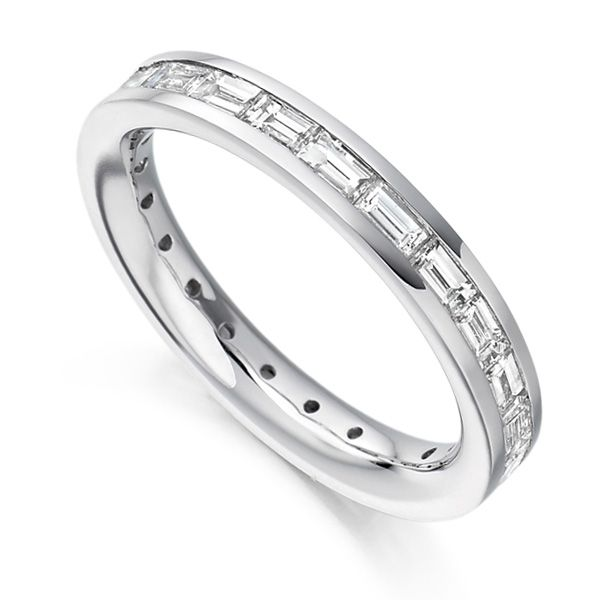 1.50cts Baguette Diamond Full Eternity Ring Main Image