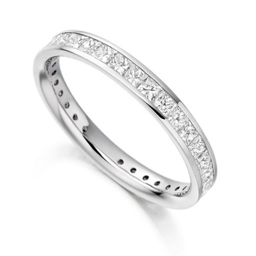 Fully Set Diamond Wedding Rings