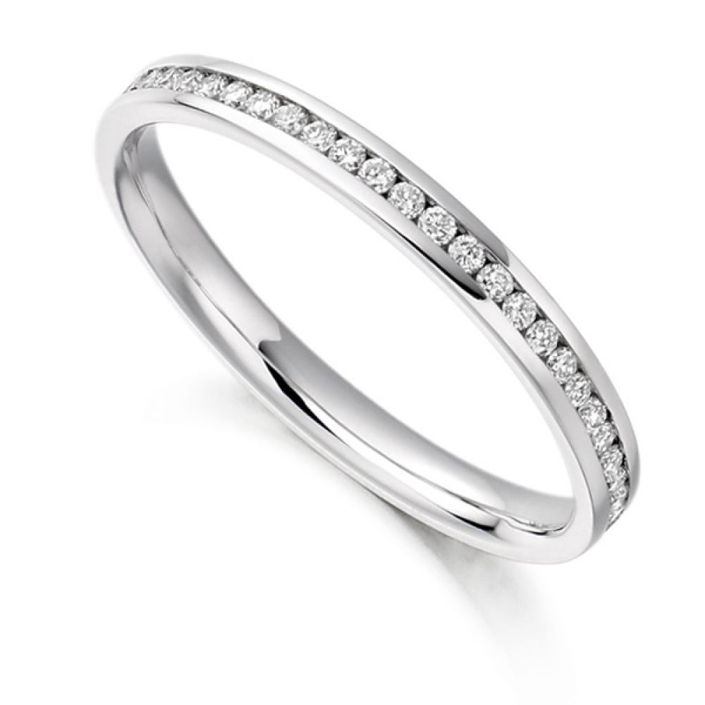0.35cts Round Diamond Full Eternity Ring