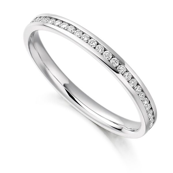 0.35cts Round Diamond Full Eternity Ring Main Image