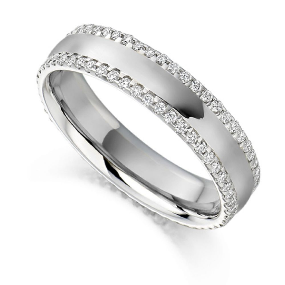 0.55cts Diamond Edged Full Eternity Ring