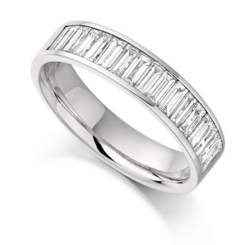 Baguette Diamond Eternity Rings