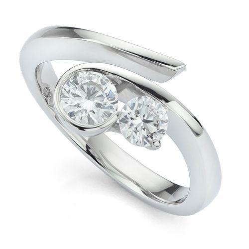 2 Stone Rings