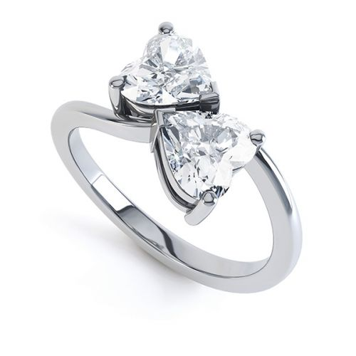 2 Stone Engagement Rings