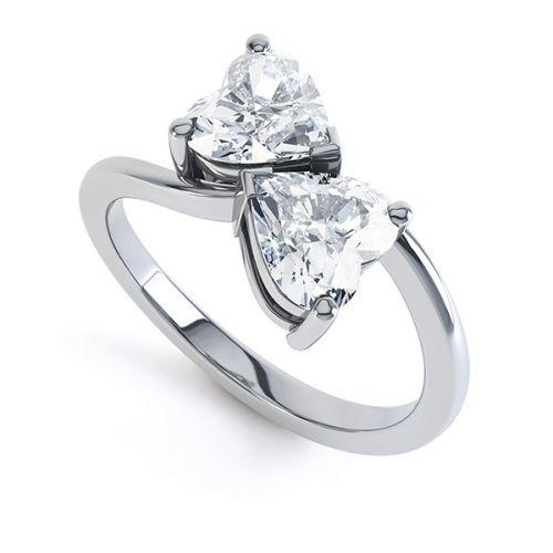 2 Stone Engagement Rings