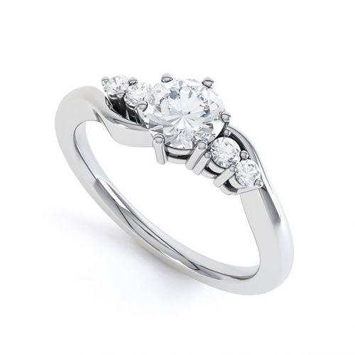 5 Stone Rings