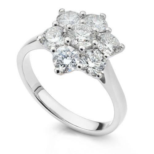 Cluster Engagement Rings
