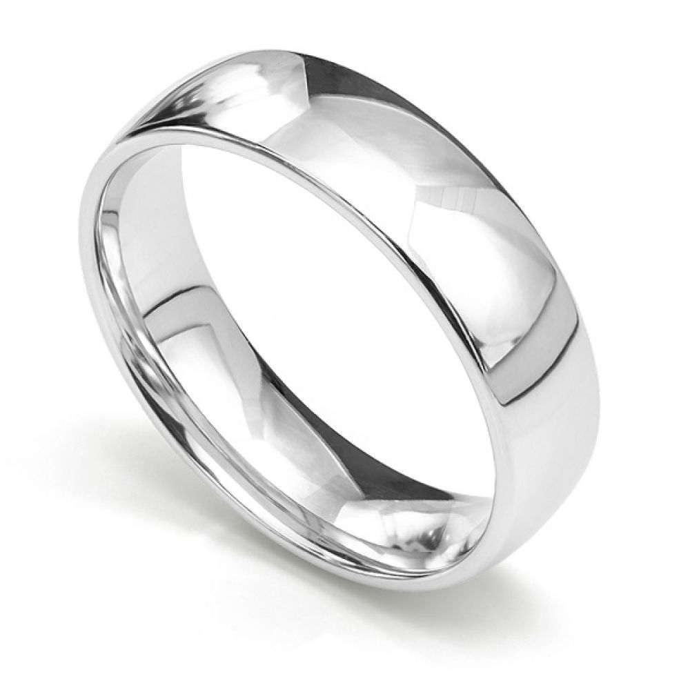 Plain medium weight wedding band Osborne