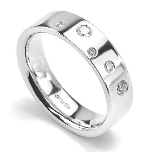 Diamond Wedding Rings for Men and Women