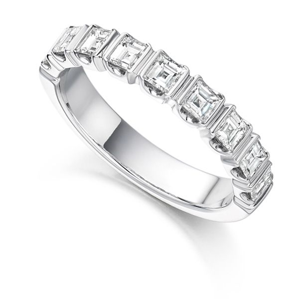 1 Carat Square Diamond Eternity Ring Main Image