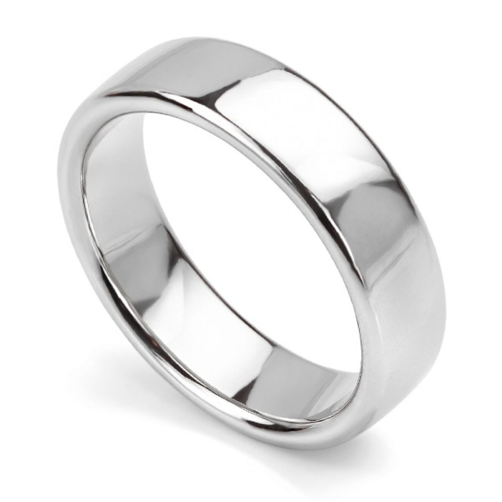 Heavyweight Court Wedding Ring