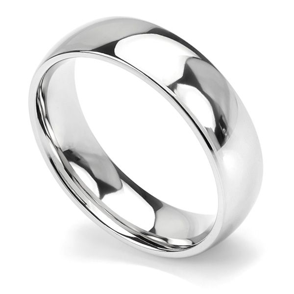 Traditional Court Wedding Ring - Heavy Weight Main Image