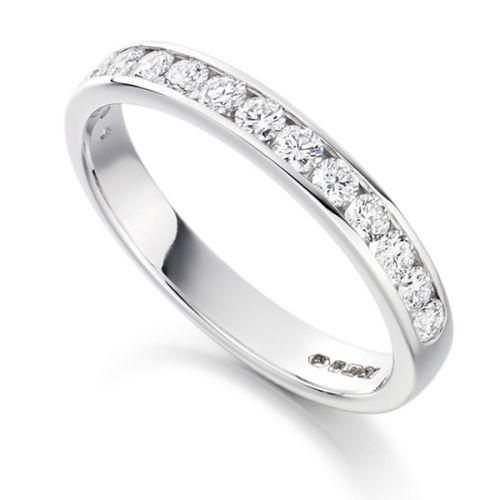 Round Diamond Eternity