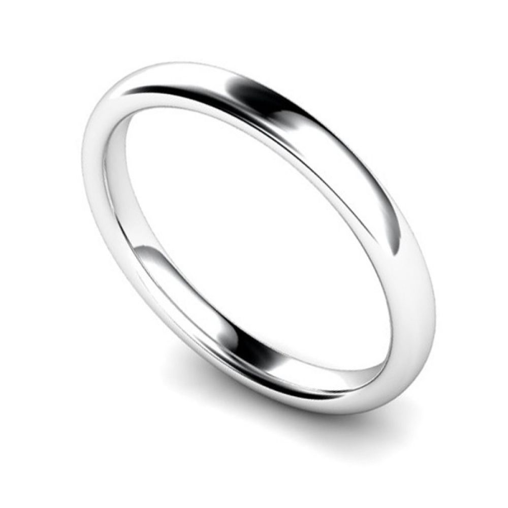 Medium Weight Court Wedding Ring