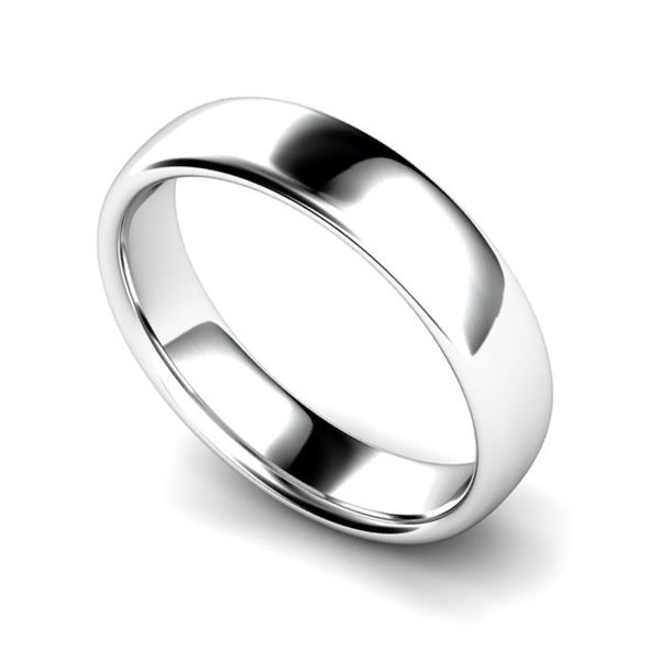 Medium Weight Court Wedding Ring Main Image