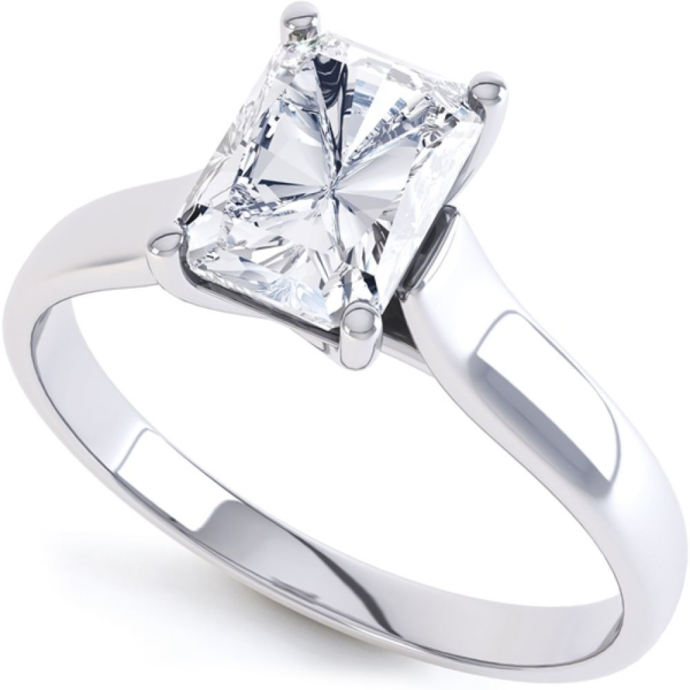 sterling rings rectangular cubic simpson celebrity diamond replica ashlee engagement inspired cz zirconia ring silver